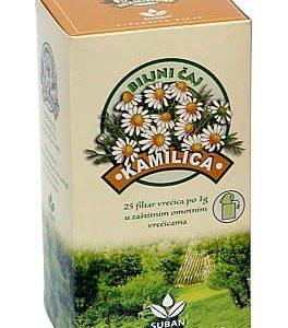 Kamilica čaj filter